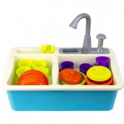 Evier avec eau et 22 accessoires