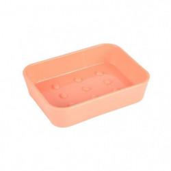 Porte-savon Vitamine effet Soft Touch - Plastique - Orange c