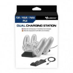 Station de recharge pour 2 manettes PS4 Subsonic