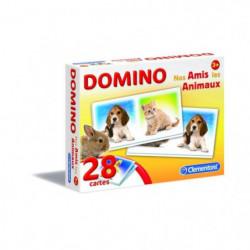 CLEMENTONI Domino - Nos Amis Les Animaux - Jeu éducatif