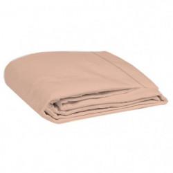 COTE DECO Drap plat 100% percale de coton - 270x290 cm - Ros