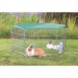 TRIXIE Filet protection solaire - 1,10x1,10m - Pour lapin