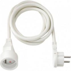 BRENNENSTUHL Rallonge électrique 5m avec fiche plate (câble