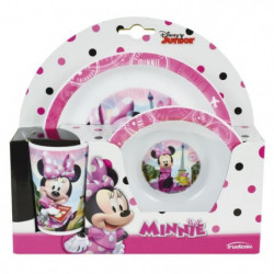 Fun House Disney Minnie ensemble repas comprenant 1 assiette