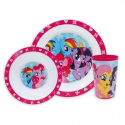 Fun House My Little Pony ensemble repas comprenant 1 assiett