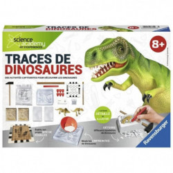 SCIENCE X RAVENSBURGER Midi Traces de Dinosaures Jeu Educati