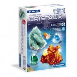 CLEMENTONI Science & Jeu - Crée des cristaux - Jeu scientifi