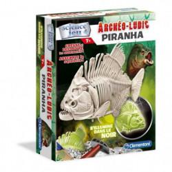 CLEMENTONI Archéo Ludic - Piranha Phosphorescent - Science &