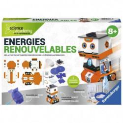 SCIENCE X RAVENSBURGER Midi Energies Renouvelables Jeu Educa