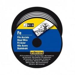 DECA Bobine fil acier pour soudure MIG/MAG Ø fil 0,8 mm 0,7