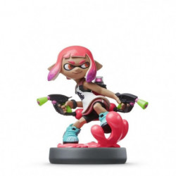 Amiibo Splatoon - Fille Inkling Rose Néon Collection Splatoo