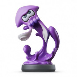 Amiibo Splatoon - Calamar Inkling Violet Néon Collection Spl