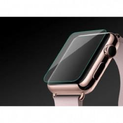 PLATYNE Vitre de protection en verre trempé pour Apple Watch