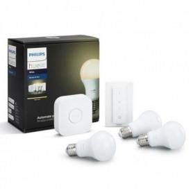 PHILIPS HUE Kit de démarrage 3 ampoules White E27