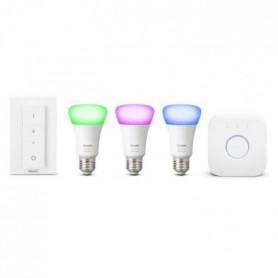 PHILIPS HUE Kit de démarrage 3 ampoules White&Color