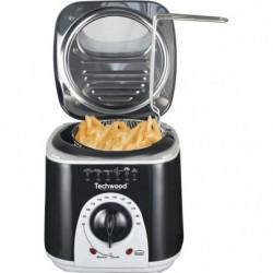 TECHWOOD Mini Friteuse et Appareil a fondu - 950 W - Noir