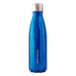 YOKO -  bouteille isotherme 500 ml en inox double paroi colo