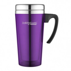 THERMOS Soft touch travel mug isotherme - 420ml - Violet