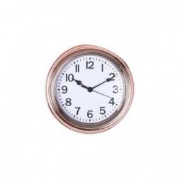 Pendule cuivrée - 22 cm - Blanc et cuivrée