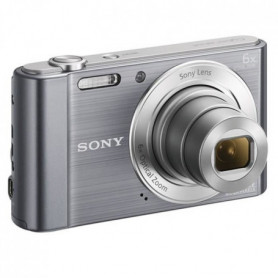 SONY DSC-W810 Compact Gris - CCD 20 MP Zoom 6x