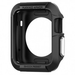 Spigen Rugged Armor Coque Apple Watch Serie 2 42mm Noir