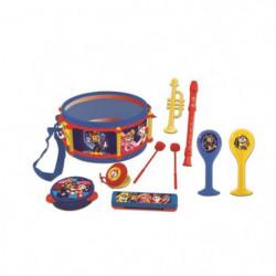 PAT PATROUILLE - Set de 7 Instruments de Musique - Tambour,