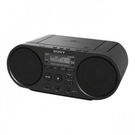 SONY - Boombox  ZSPS50B.CED CD USB - AM-FM - Noir