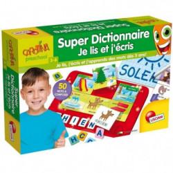 LISCIANI GIOCHI Super dictionnaire je lis et j'écris