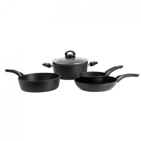 SITRAM 713067 - Batterie de cuisine 5 pieces - Alu