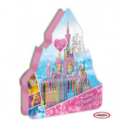 PRINCESS - Mon château d'activités 75 pcs