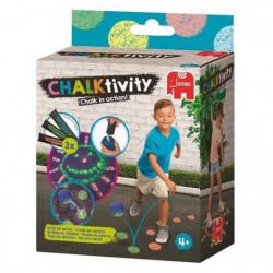 JUMBO Chalktivity - Balle rebondissante, jeu créatif d'extér