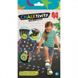 JUMBO Chalktivity - Tampons a Chausser, jeu créatif d'extéri