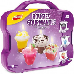 JOUSTRA - Mallette Bougies Gourmandes