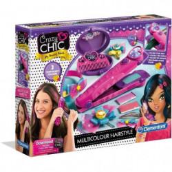 CLEMENTONI Crazy Chic - Cheveux multicolores