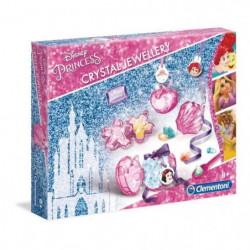 CLEMENTONI - Bijoux en cristaux - Disney Princesses - Créati