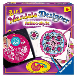 RAVENSBURGER Mandala Designer Tattoo Style