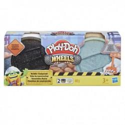 PLAY-DOH Wheels - Pâte de Construction - Goudron et Ciment