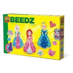 SES CREATIVE Beedz Boites de perles a repasser Princesses av
