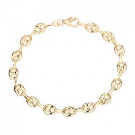 Les Bijoux d'Emma - Bracelet maille grain de café