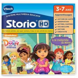 VTECH - Jeu Éducatif Storio - Dora Et Ses Amis