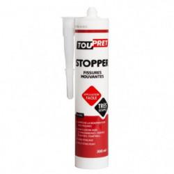 TOUPRET Mastic Stopper Fissures mouvantes 300 ml