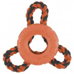 ZEUS Jouet Bomber Tri boucle 9 x 18 cm - Noir et orange - Po