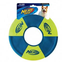 NERFDOG Disque volant Trackshot - Vert-bleu et orange-bleu -