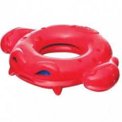 NERFDOG Anneau de crabe Soaker - Rouge - Pour chien