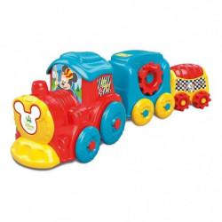 CLEMENTONI Disney Baby  - Train d'activités Mickey - Jeu d'é