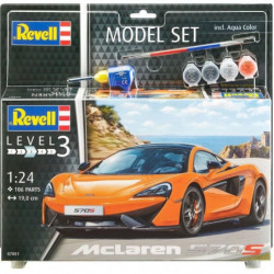 REVELL Maquette Model set Voitures MCLAREN 570S -67051