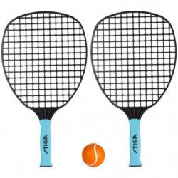 STIGA Set de tennis de plage All round - Noir et bleu