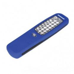 SILVERLINE Lampe Torche magnétique - 24 LED - 210x60 mm