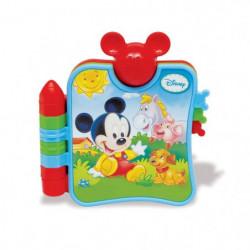 CLEMENTONI Disney Baby  - Mickey et mon premier livre sur le