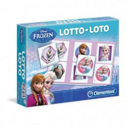 CLEMENTONI Jeu de Loto - La Reine des Neiges - Jeu éducatif